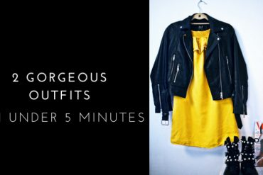 Tips for A More Fashionable You: Outfit Planning in under 5 minutes