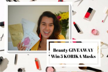 5 Fabulous KORIKA Masks – 24k gold one – GIVEAWAY* – Enter NOW