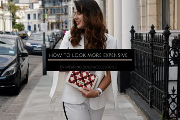 How to look more expensive by wearing bold accessories | Miss Andrada