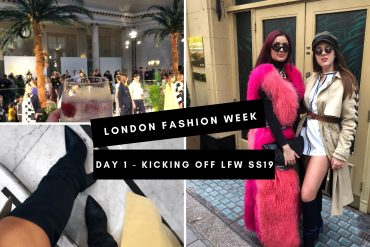 London Fashion Week Day 1 – SS19 | NotAGirlyGal