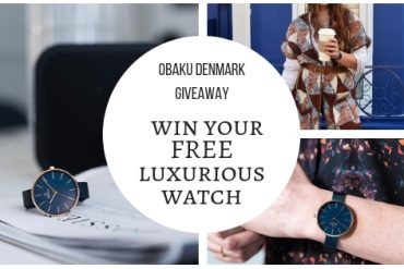 Obaku Denmark Giveaway | Win your FREE luxurious watch now