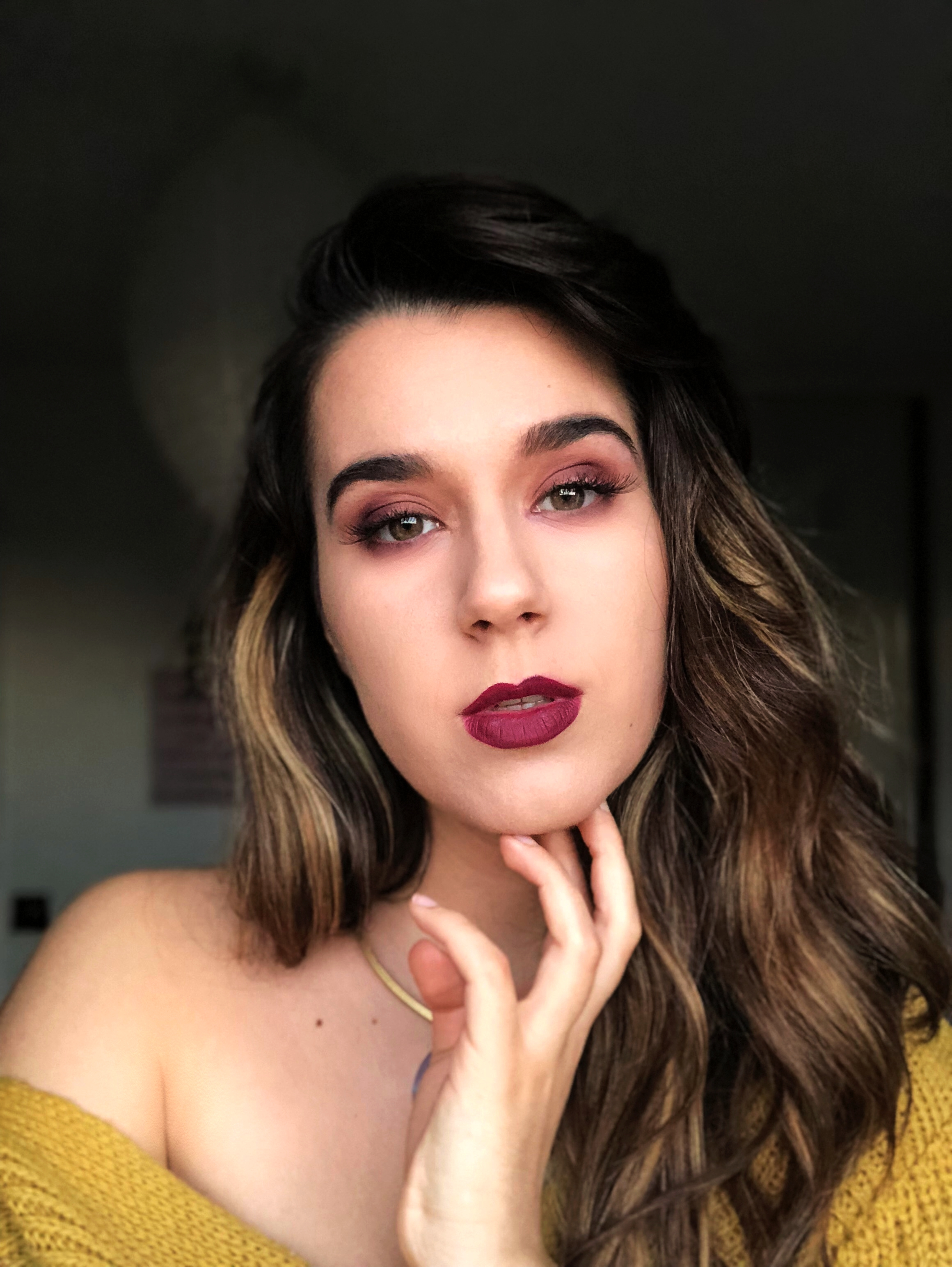 Matt Make Up Trends Autumn Burgundy Makeup MissAndrada NotAGirlyGal