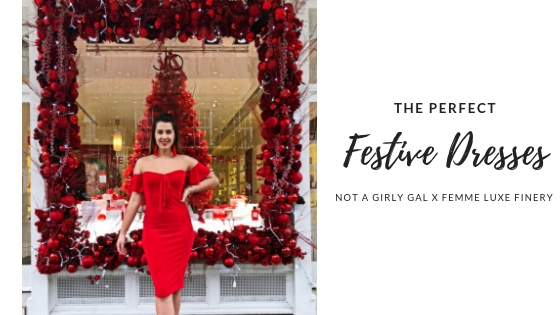 The perfect dresses for the Festive Season | Femme Luxe Finery