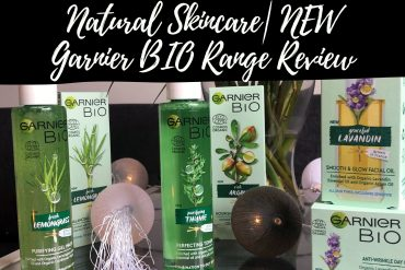 Natural Skincare|NEW Garnier BIO Range Review Notino